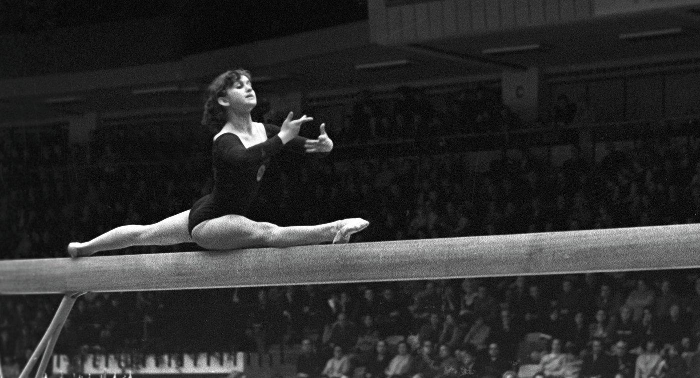 Гимнастка Антонина Кошель. Архивное фото