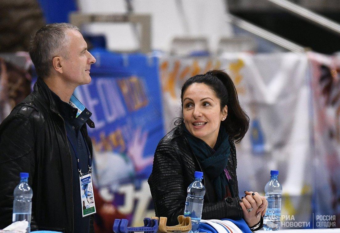 Ирина Жук и Александр Свинин