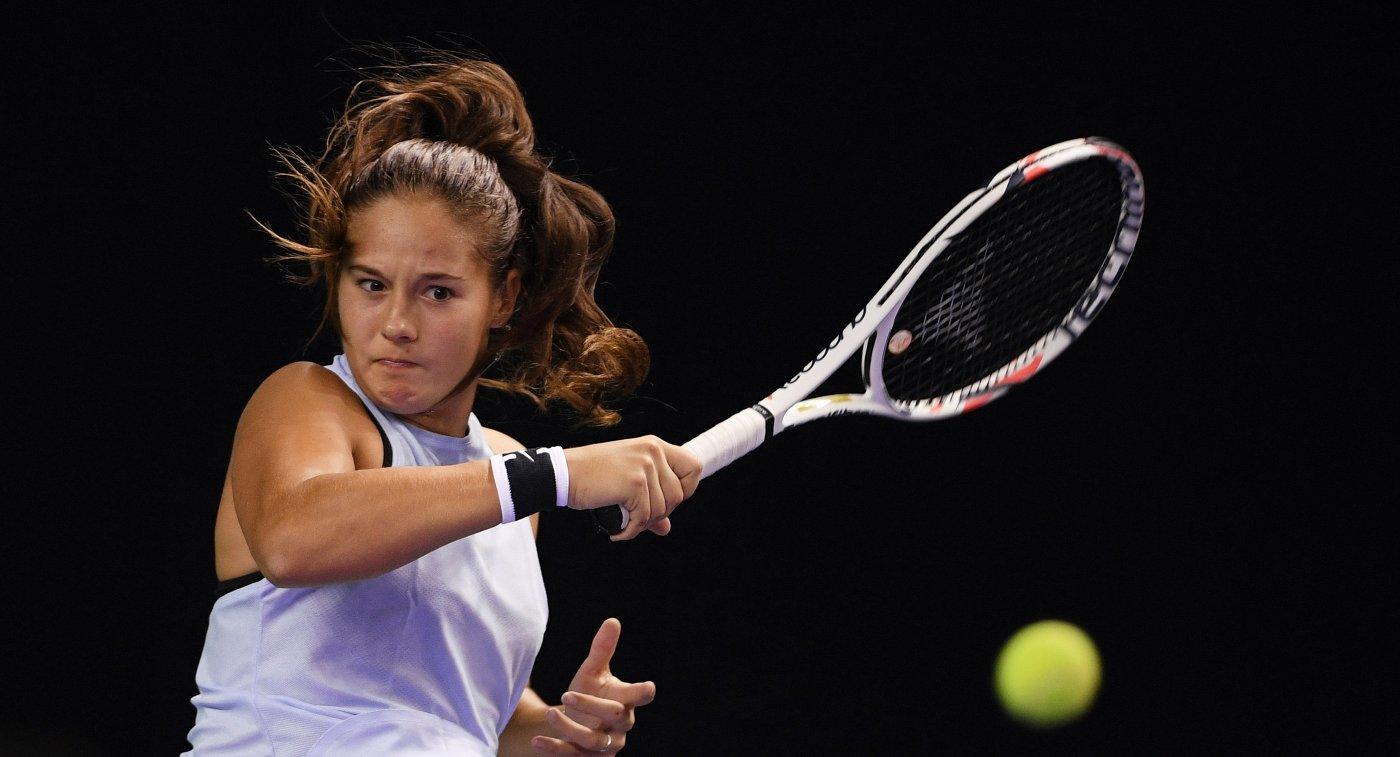 Белоруска Вера Лапко вышла во 2-ой круг теннисного Кубка Кремля