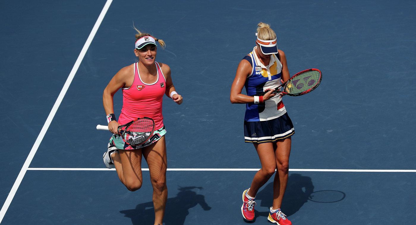 Чешка Главачкова ивенгерка Бабош выиграли Итоговый турнир WTA впарном разряде