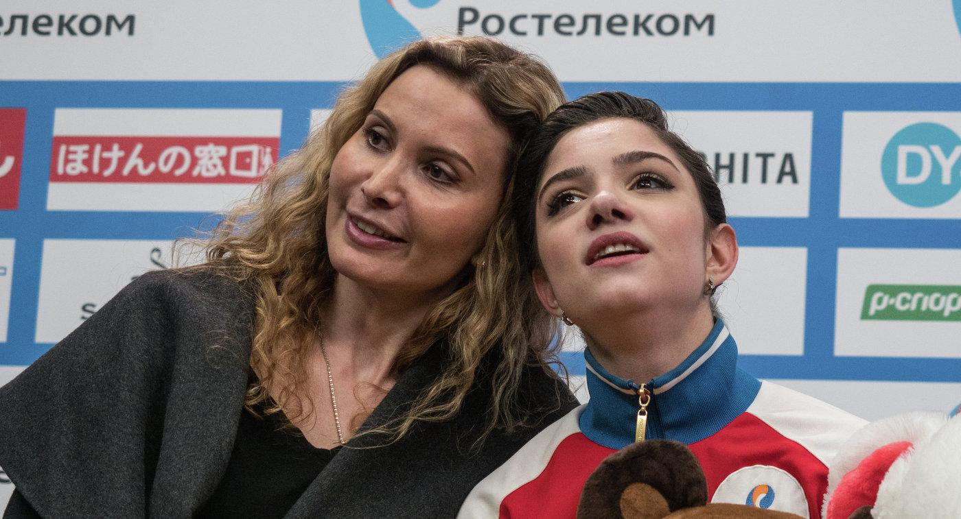 Фигуристка Медведева ушла отсвоего тренера Этери Тутберидзе