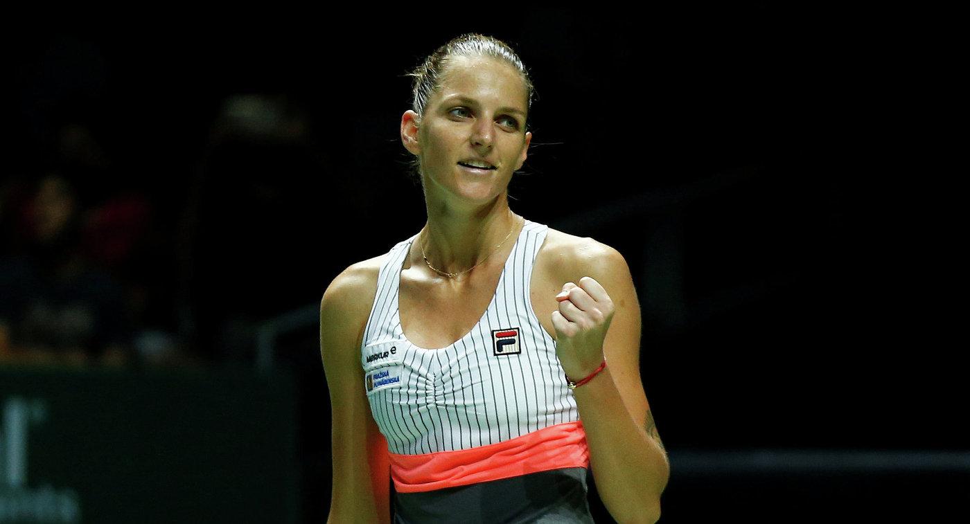 Мугуруса переиграла Остапенко наитоговом турнире WTA вСингапуре