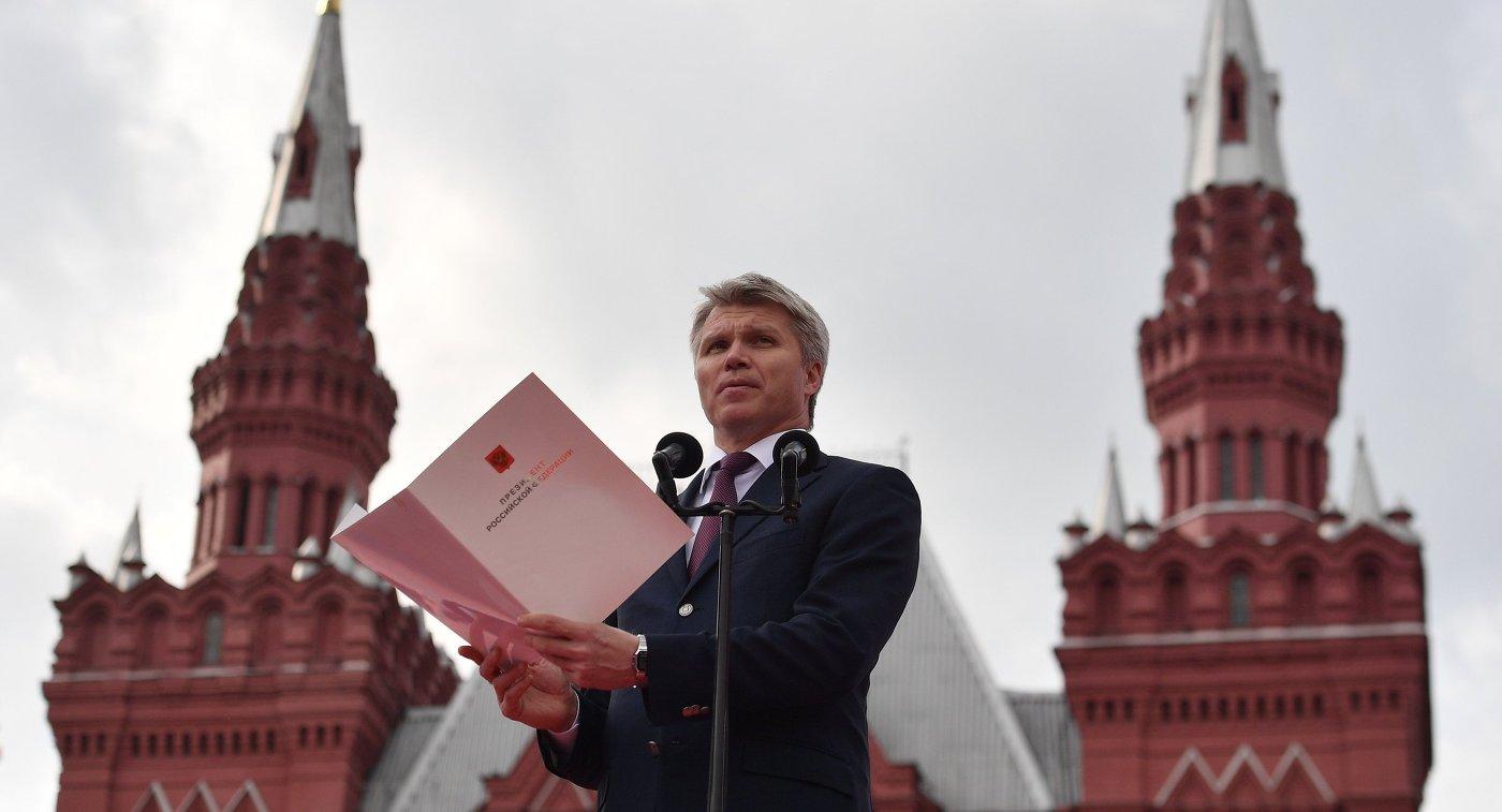 Колобков: будем сражаться за русский спорт