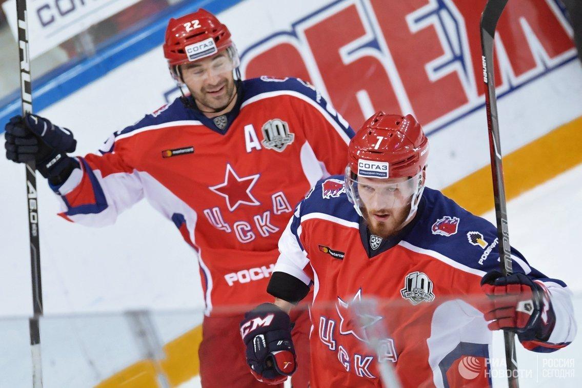 Хет-трик Ковальчука помог СКА побороть ЦСКА в постоянном чемпионате КХЛ