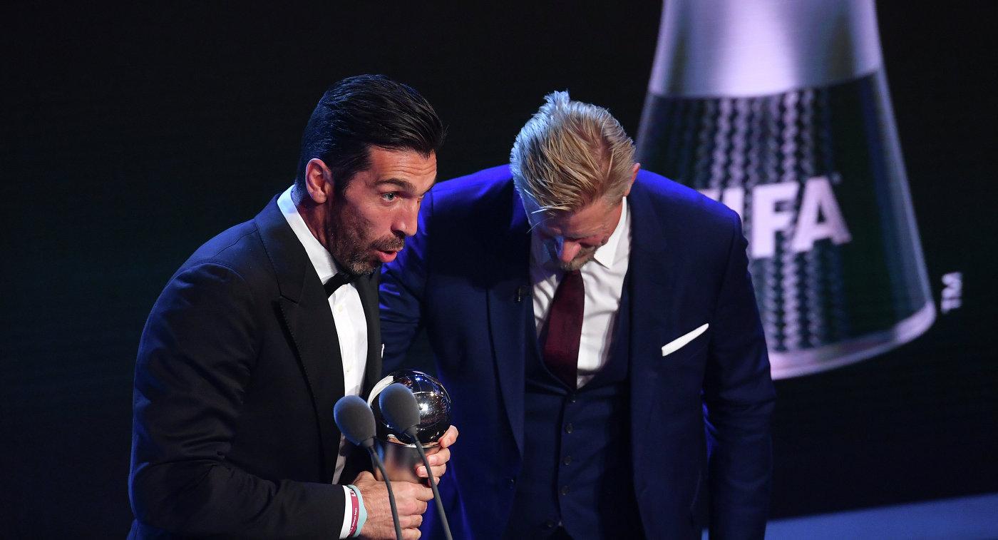 Вратарь «Ювентуса» Буффон признан лучшим голкипером года поверсии ФИФА