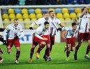 Футболисты Амкара радуются победе