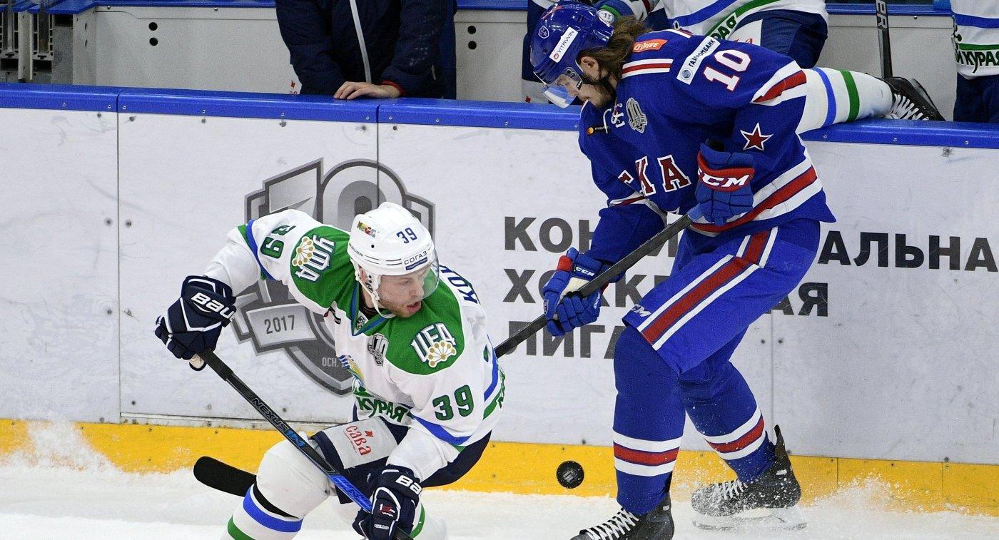 Нападающий ЦСКА Антон Бурдасов продолжит карьеру в«Салавате Юлаеве»