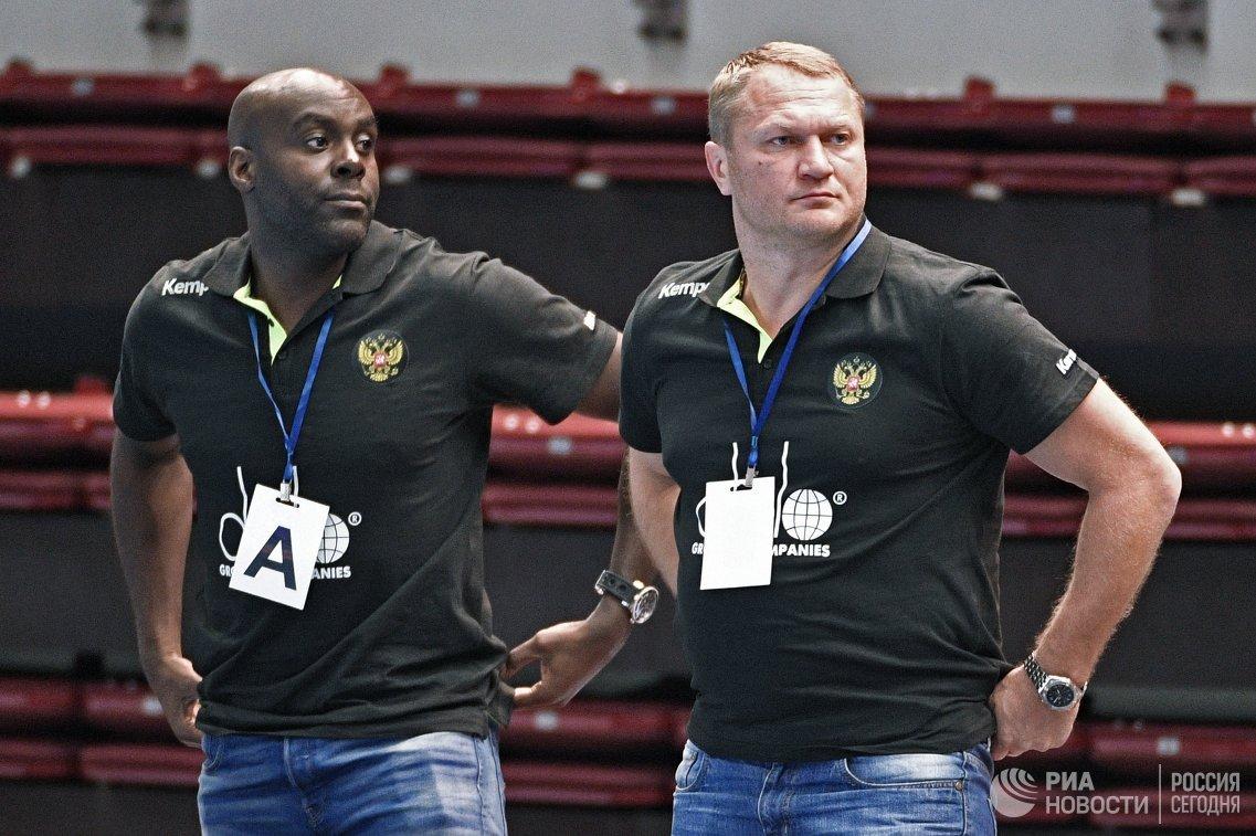 Спасения волгоградского вратаря помогли сборной Российской Федерации погандболу разгромить Словакию
