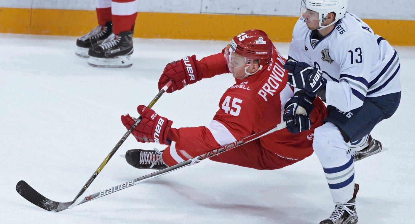 Волимпийскую сборную РФ похоккею вызвали 2 игроков СКА