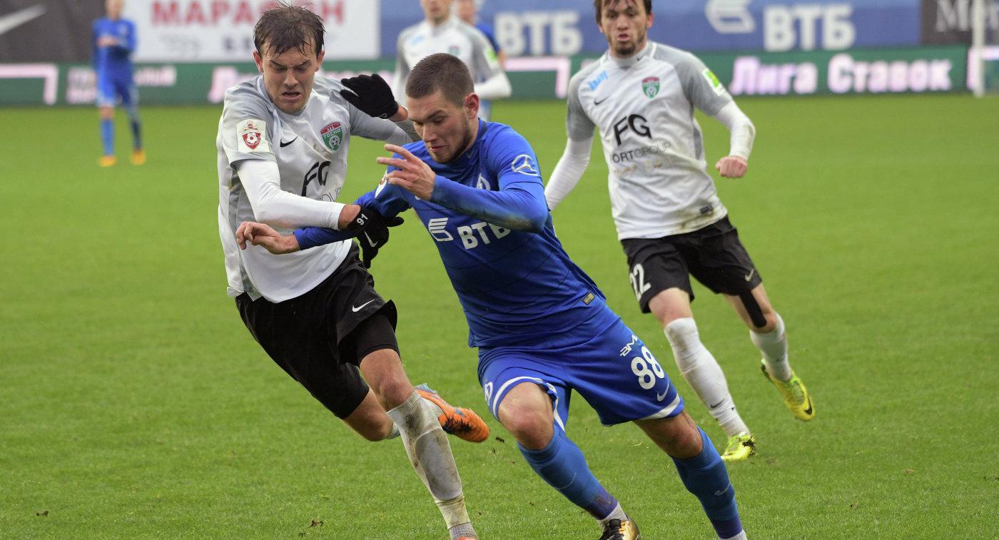 Футболист Ташаев продлил договор с столичным «Динамо»