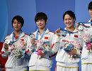 Слева направо: Ай Яньхань, Лю Цзысюань, Чжан Юйхань, Ли Бинцзе