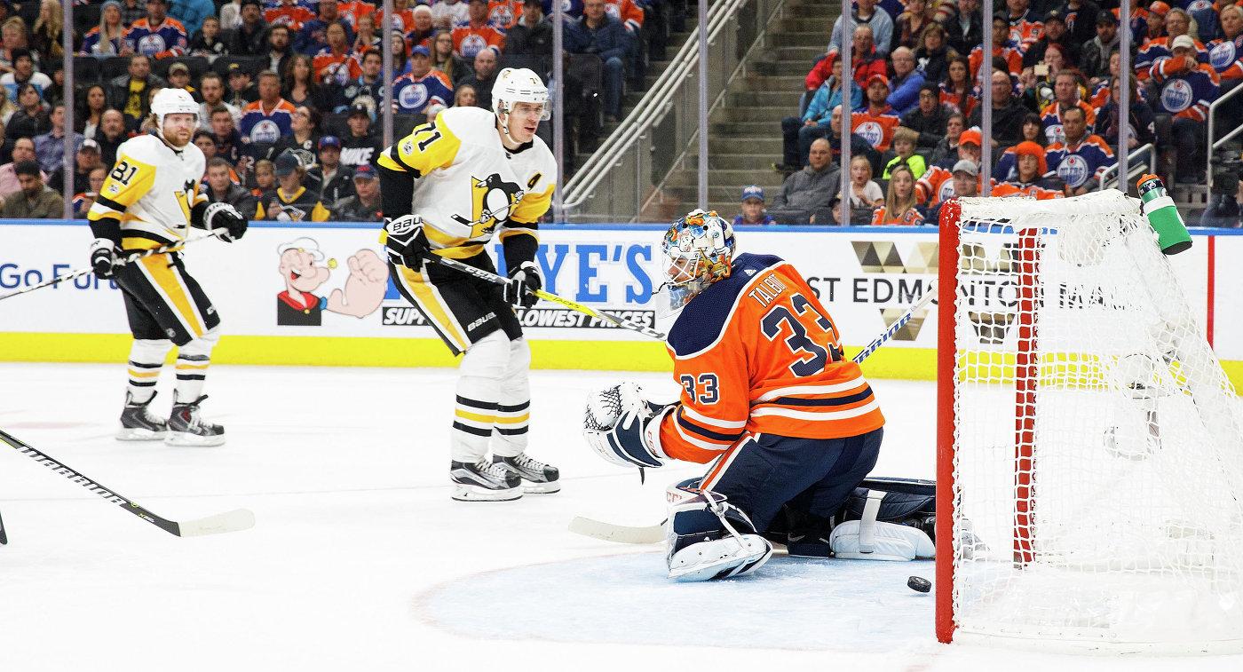 Шайба Малкина принесла «Питтсбургу» победу над «Эдмонтоном» вгостевом матче НХЛ