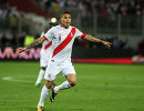Нападающий сборной Перу Хосе Паоло Герреро