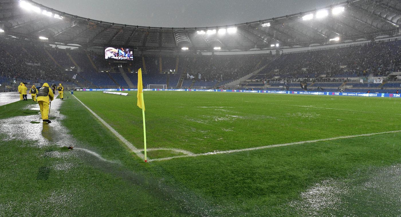 Матч «Лацио»— «Удинезе» перенесен наследующий год
