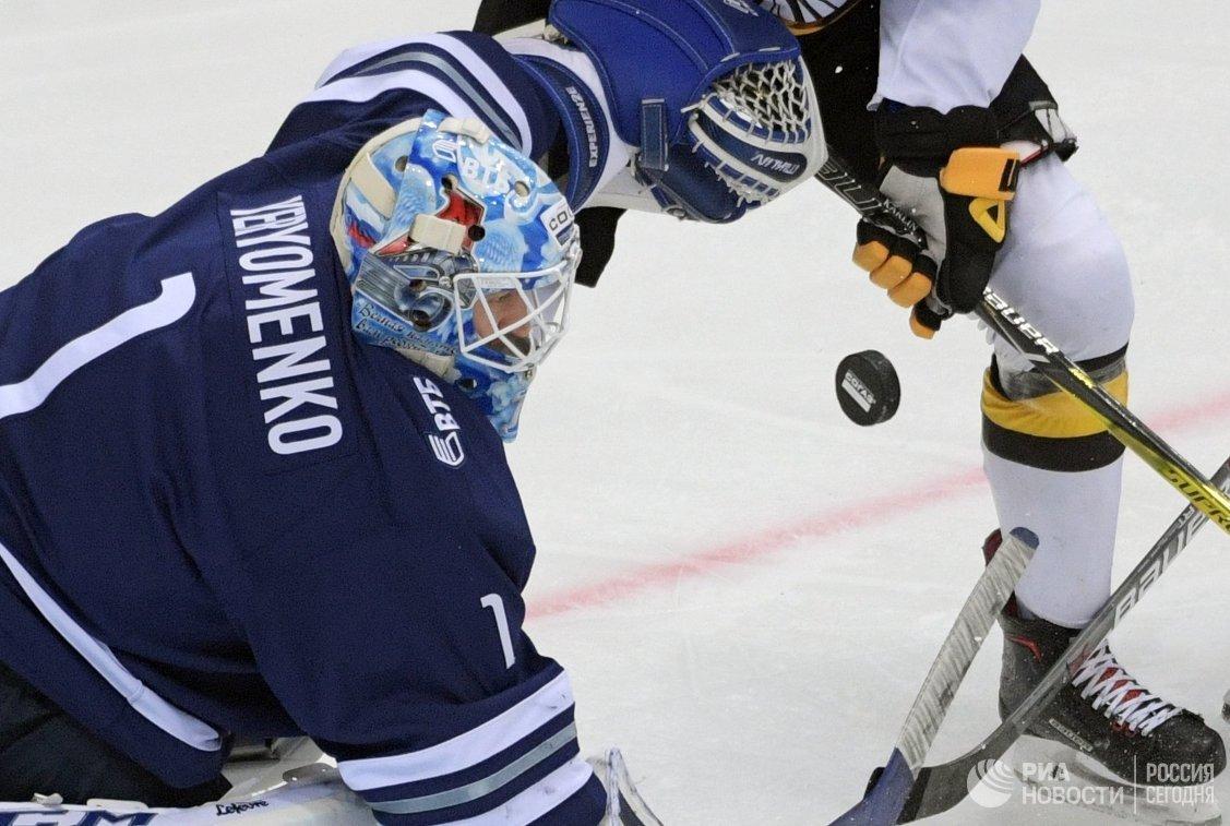 «Северсталь» одержала 3-ю победу подряд вКХЛ, обыграв столичное «Динамо»
