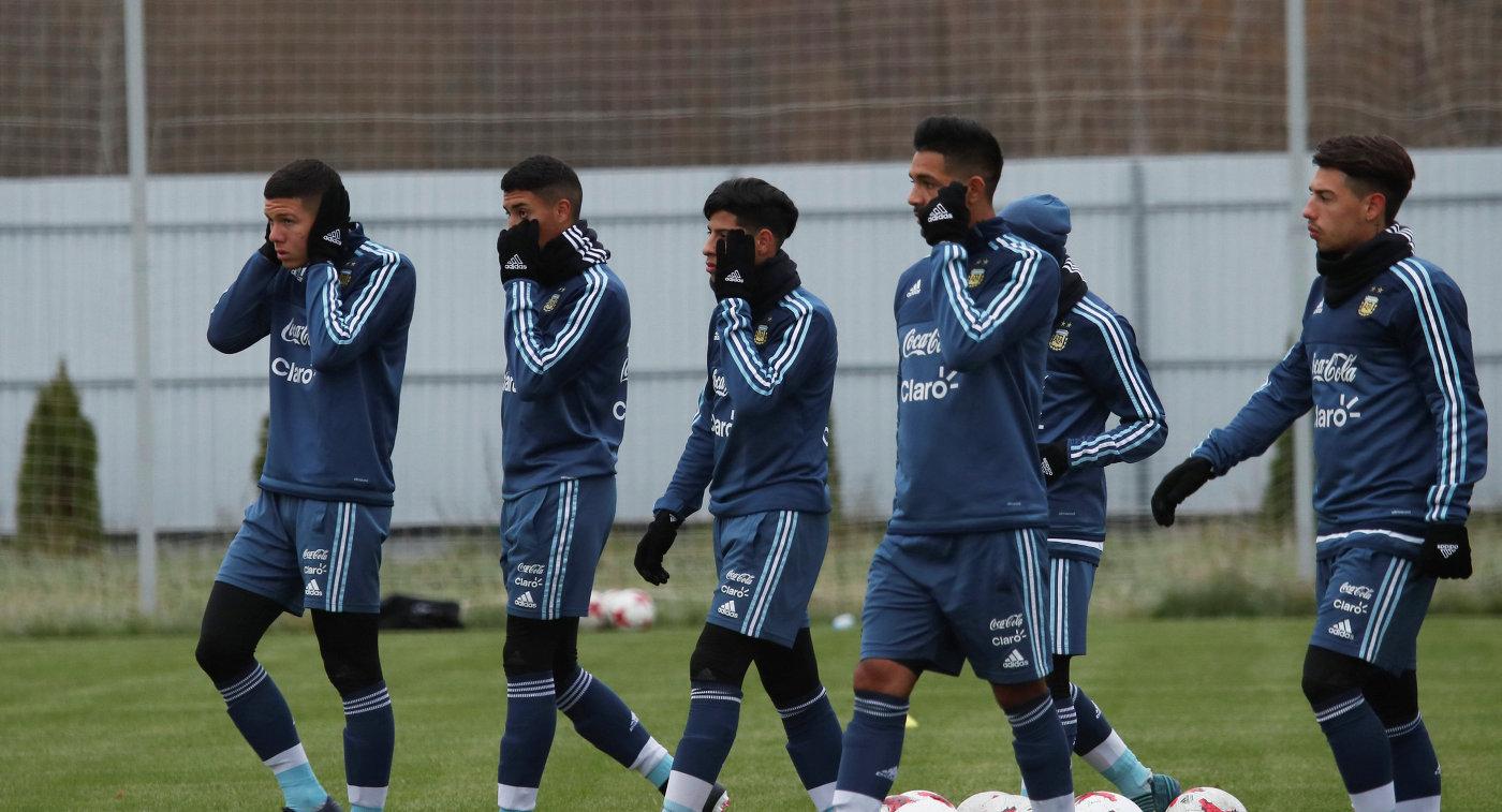 Сборная Аргентины 6ноября приступит ктренировкам настадионе «Спартака»