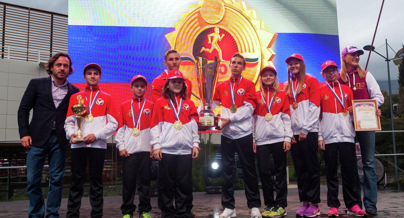 Астраханские школьники стали участниками Летнего фестиваля ГТО вАртеке