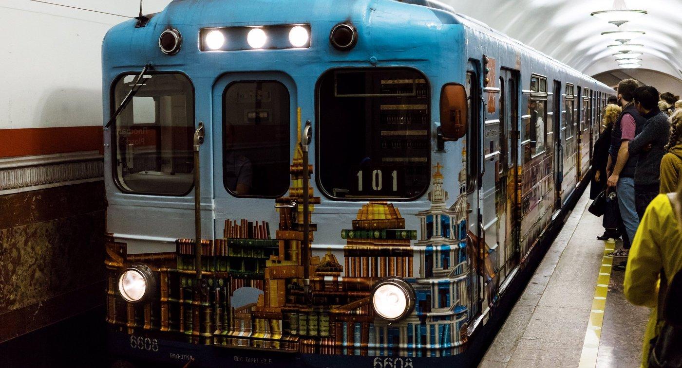 Работу петербургского метро продлят вдень футбольного матча между Россией иИспанией