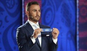 Бывший капитан сборной Италии Фабио Каннаваро на церемонии предварительной жеребьевки чемпионата мира по футболу 2018 по футболу