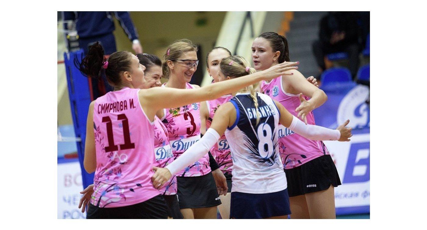 Волейболистки краснодарского Динамо