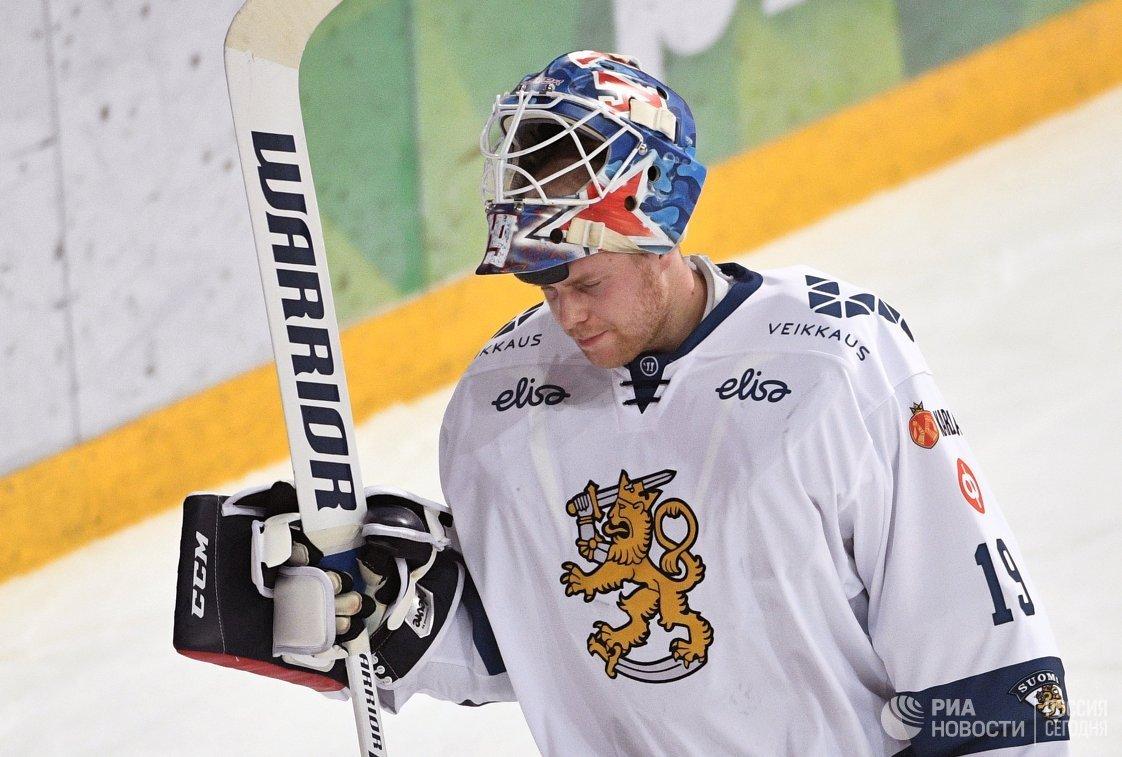 Вратарь сборной Финляндии Микко Коскинен