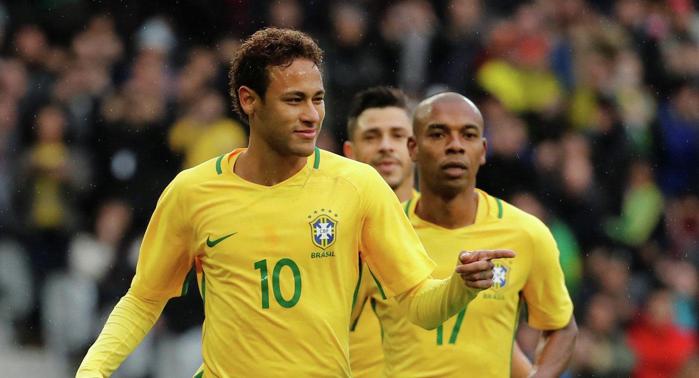 Неймар в третий раз стал лучшим бразильцем года вевропейских странах