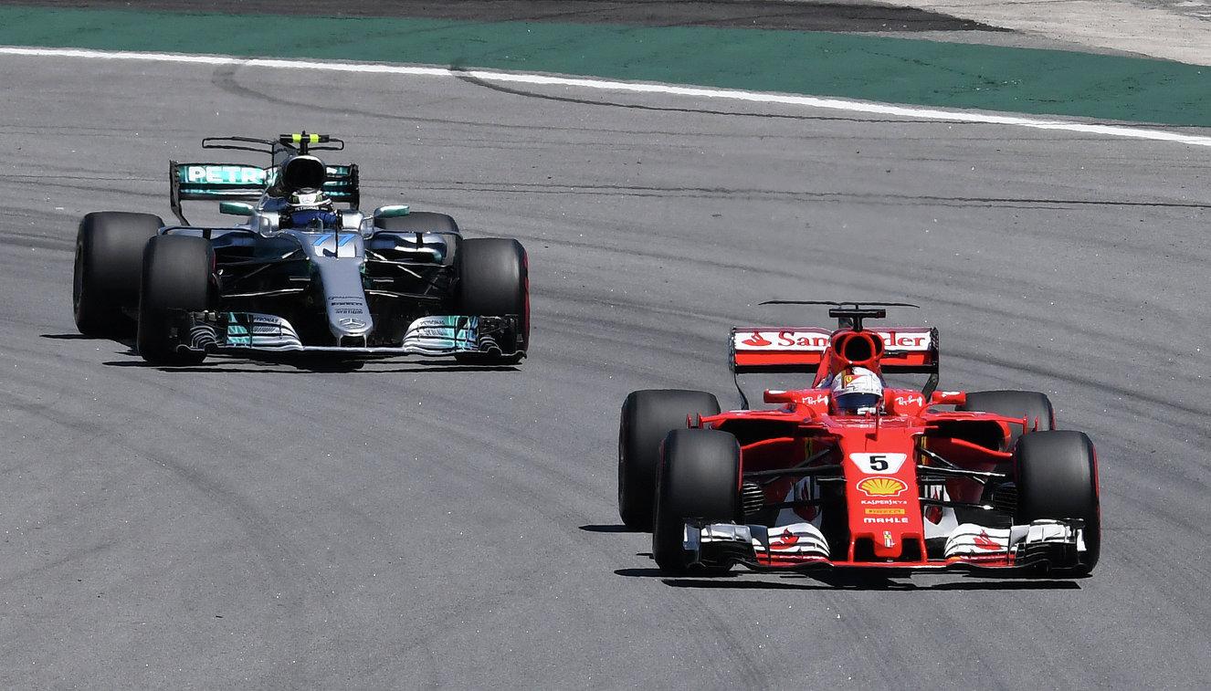 Себастьян Феттель стал победителем Гран-при Бразилии