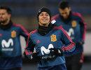 Полузащитник сборной Испании по футболу Тьяго Алькантара
