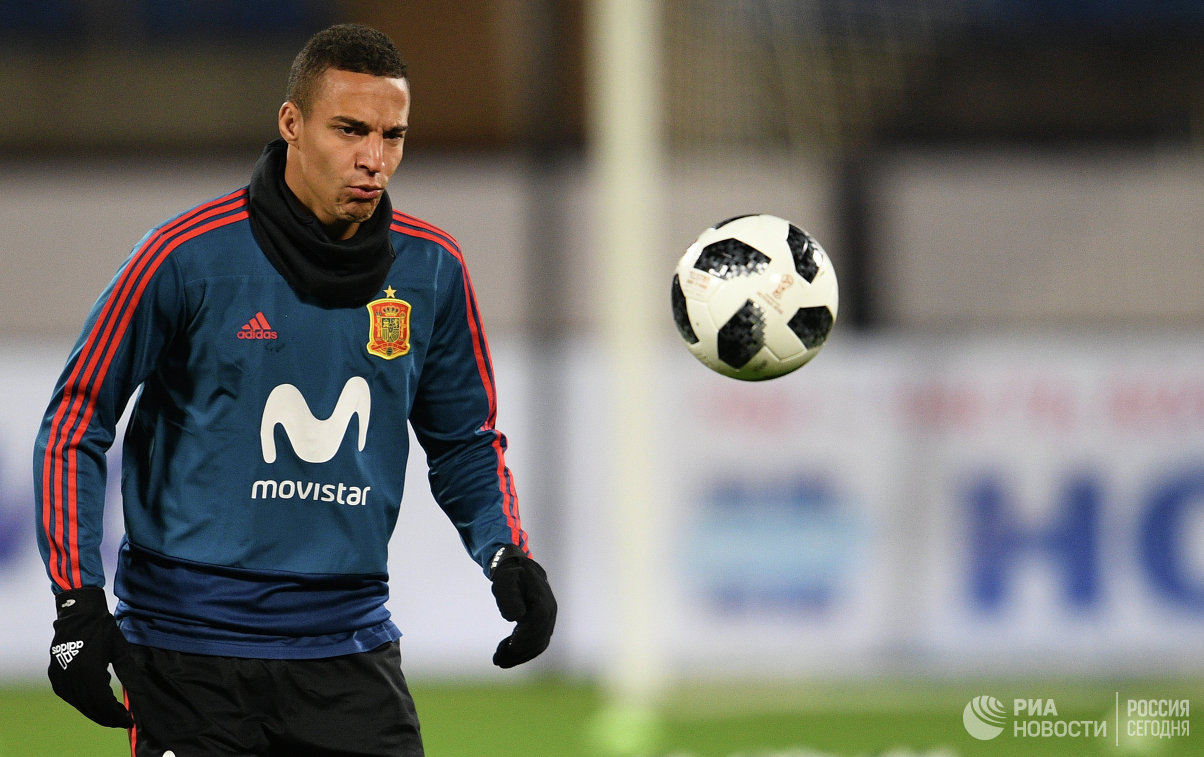 Нападающий сборной Испании по футболу Родриго