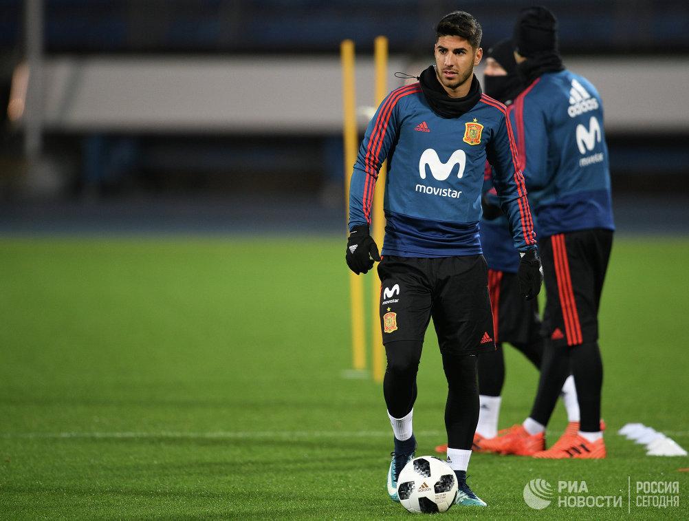 Полузащитник сборной Испании по футболу Марко Асенсио