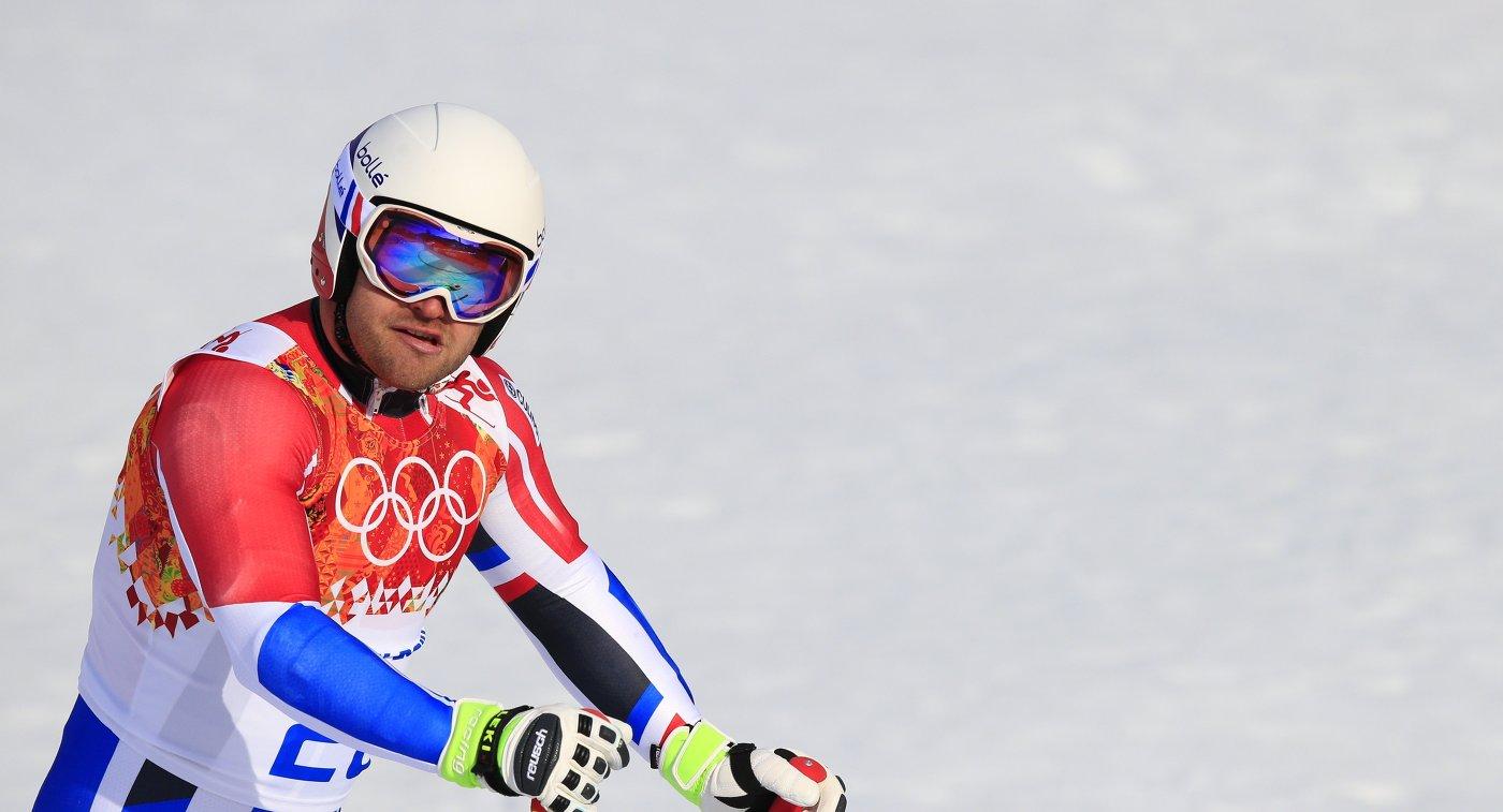 Французский горнолыжник Пуассон умер натренировке вКанаде