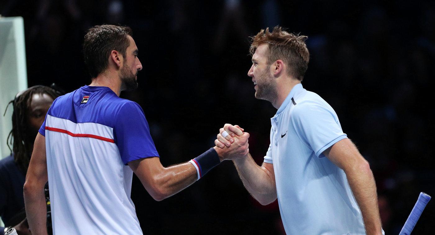 Сок оказался сильнее Чилича наИтоговом турнире ATP