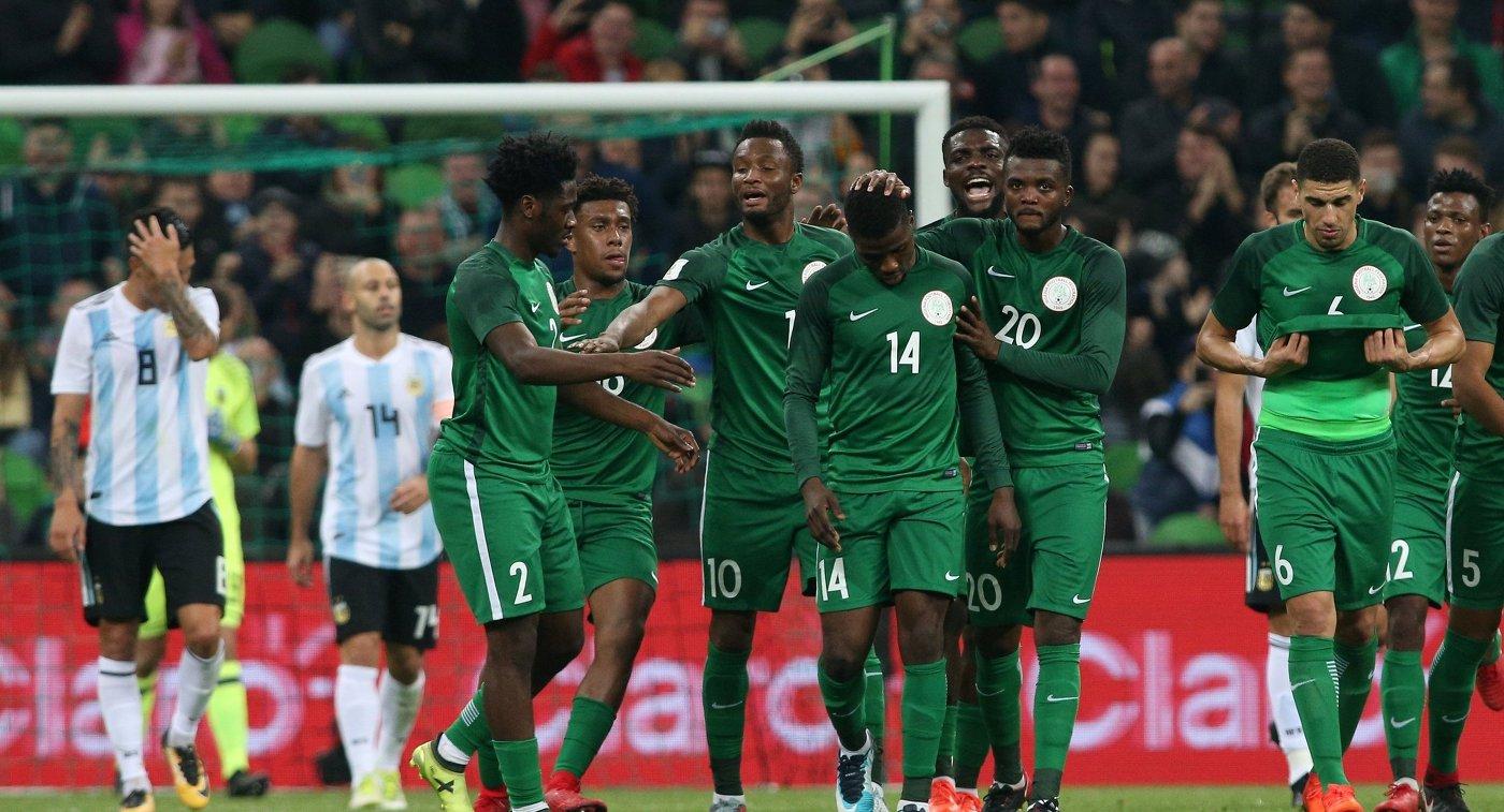 Аргентина проиграла Нигерии в Российской Федерации