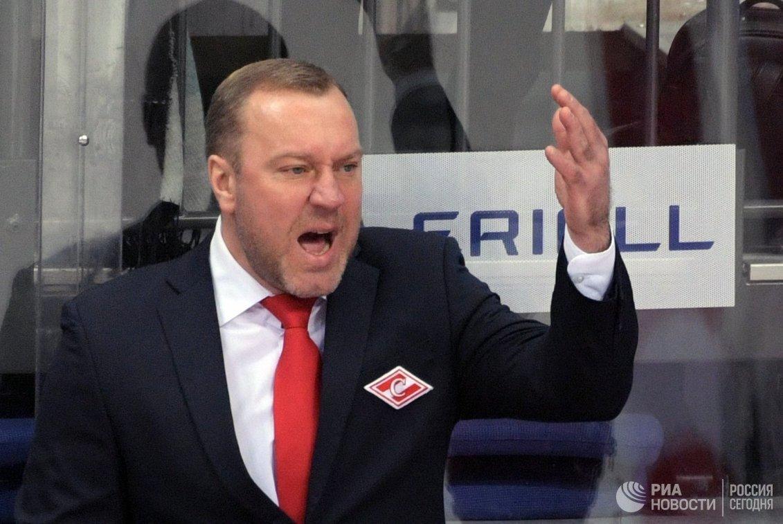 Главный тренер Спартака Вадим Епанчинцев
