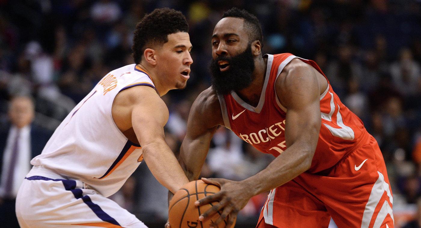 «Хьюстон»— 3-я команда вистории НБА, набравшая 90 очков запервую половину