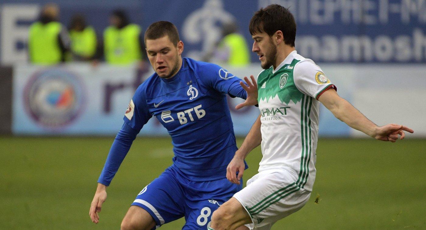 Футболист «Ахмата» Уциев считает результат матча с«Динамо» закономерным