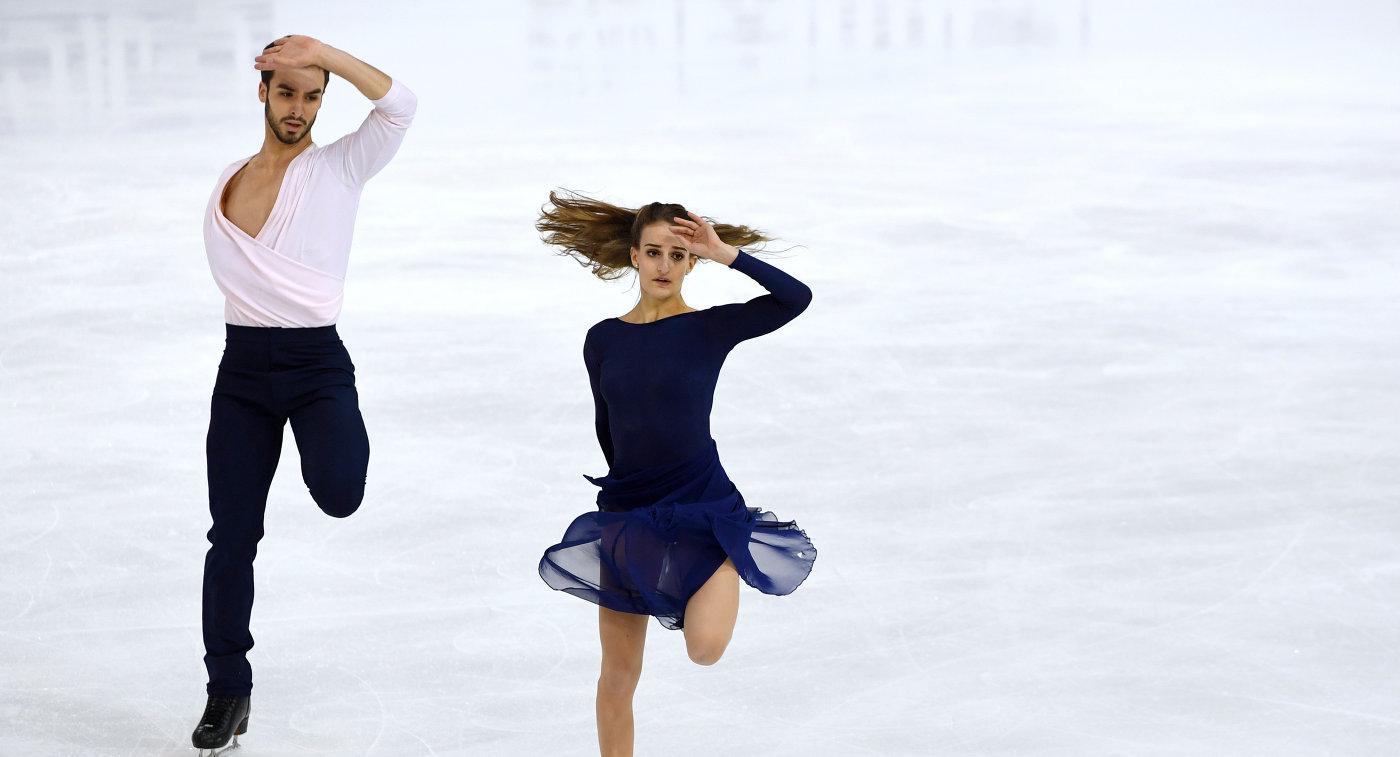Русские танцоры нальду Степанова иБукин стали третьими наГран-при Франции