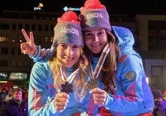 Юлия Белорукова и Наталья Матвеева