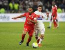 Игровой момент матча Лион - Монпелье