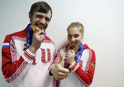 Александр Третьяков и Елена Никитина