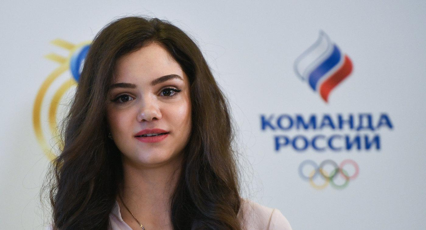Двукратная чемпионка мира и Европы Евгения Медведева