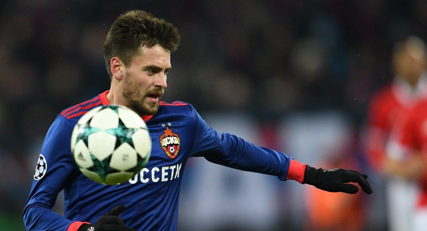 Футболист ЦСКА Щенников выбыл доконца года