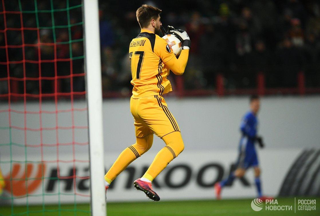 Вратарь Локомотива Антон Коченков