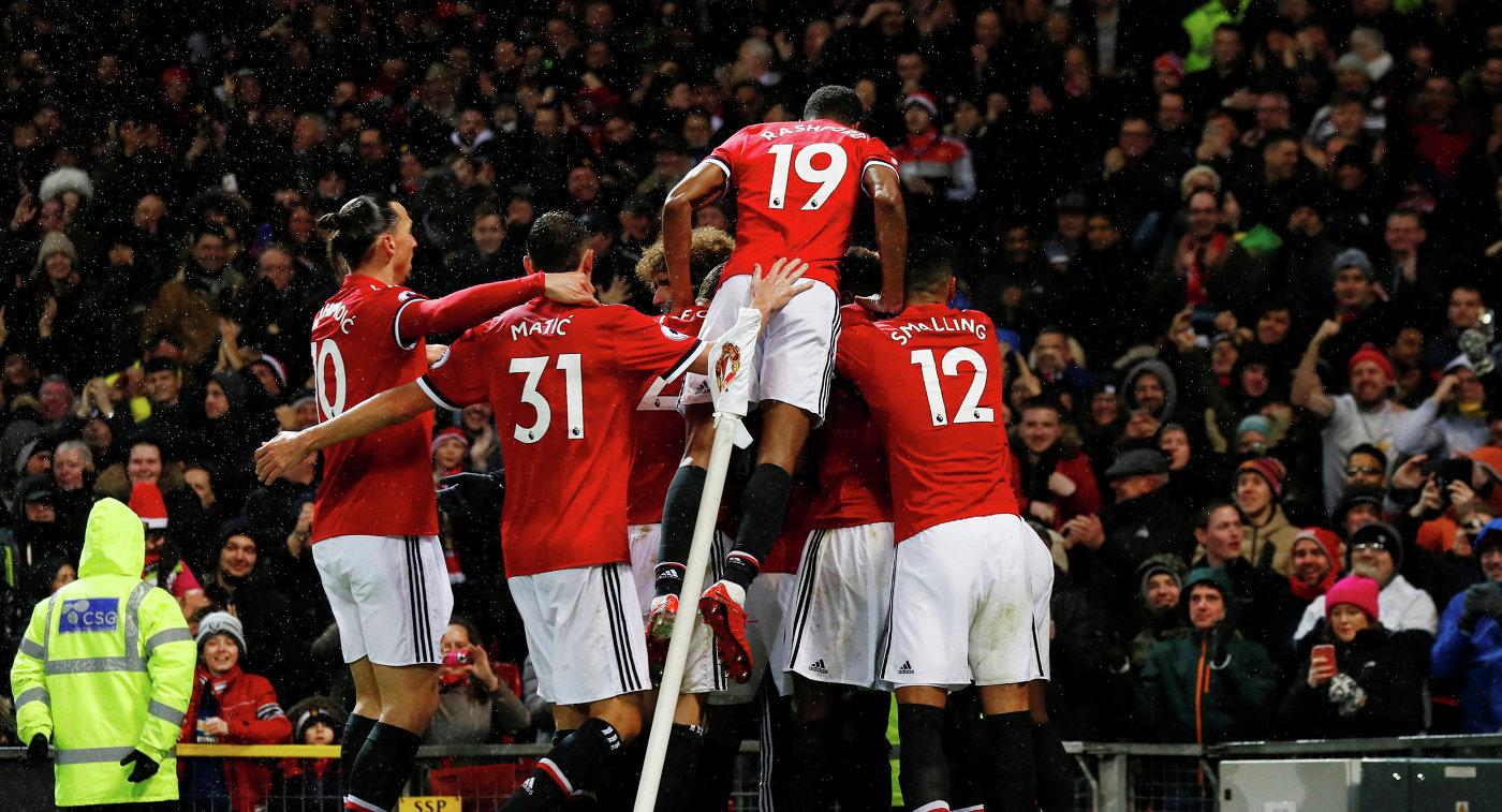 «Манчестер Юнайтед» справился с«Брайтоном»