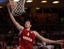 Защитник сборной России по баскетболу Сергей Карасев