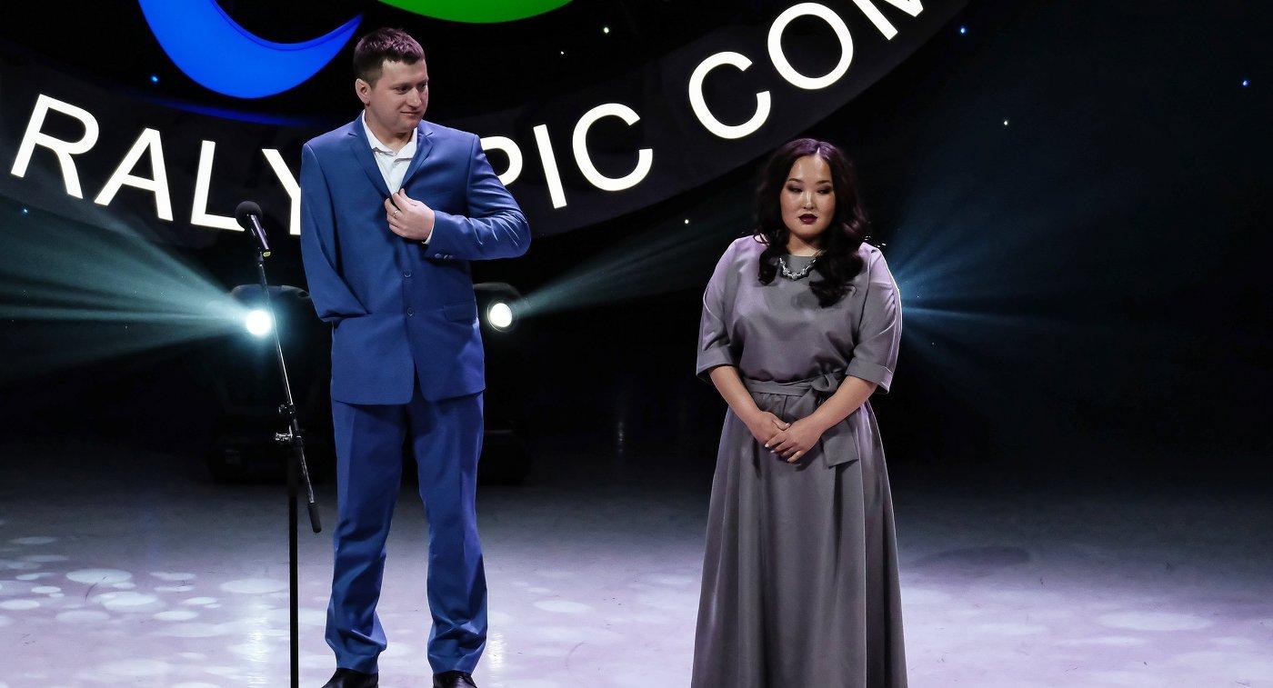 Иван Козлов и Степанида Артахинова на XII торжественной церемонии награждения премией ПКР Возвращение в жизнь в Москве