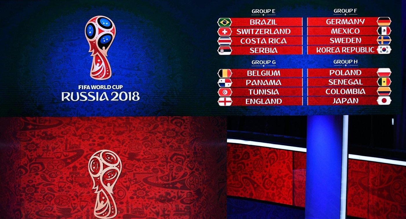 2018 чемпионат футболу года по группе россия в какой мира