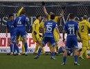 Игровой момент матча 19-го тура РФПЛ Динамо - Ростов