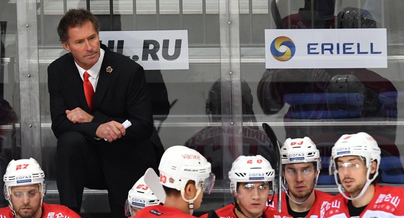 Главный тренер «Куньлуня» Майк Кинэн отправлен вотставку
