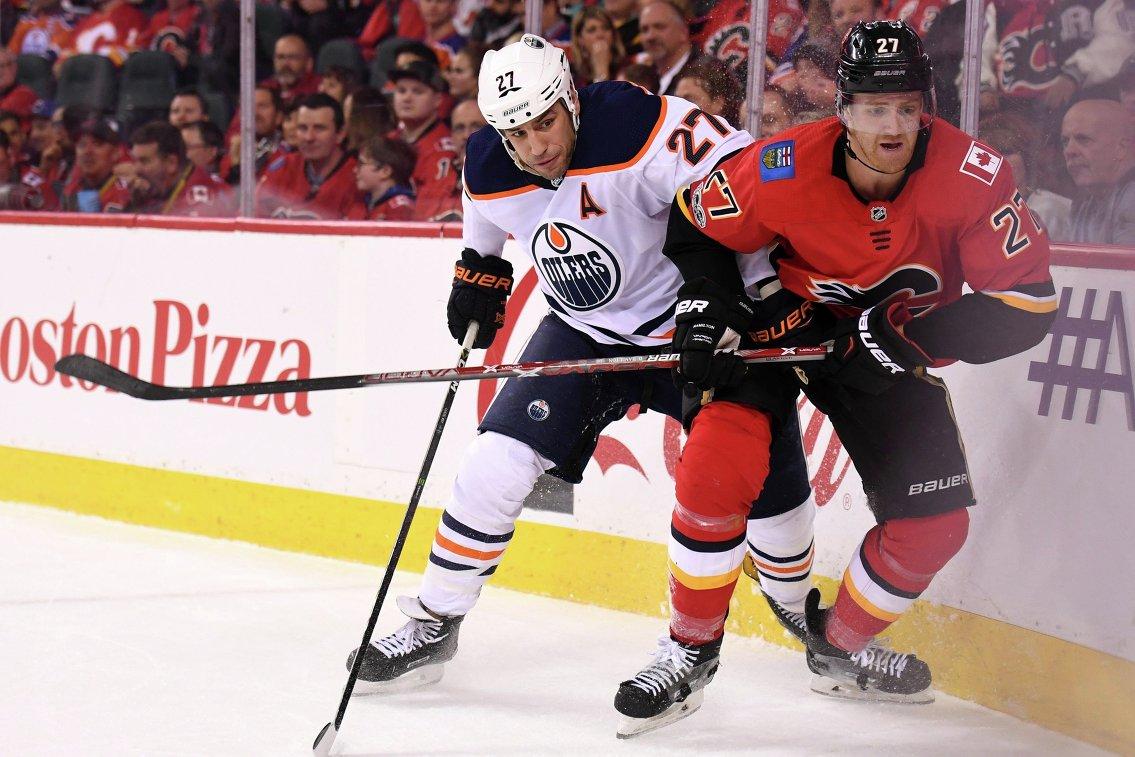 """НХЛ оштрафовала форварда """"Эдмонтона"""" на десять тысяч долларов за грубость"""